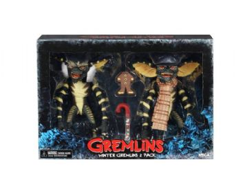 "NECA Gremlins Carol Singing Gremlins 7"" Action Figure Double Pack - Pack 1"